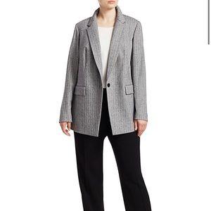 Lafayette 148 New York Speckled Herringbone Jacket
